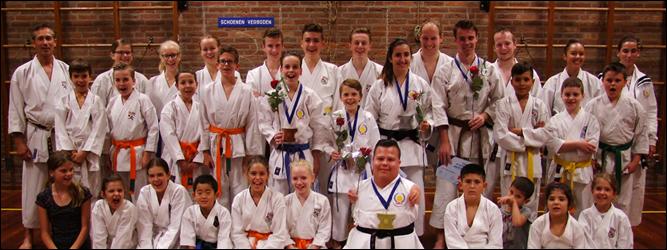 Karate Club leden